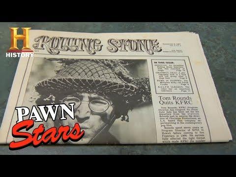Pawn Stars: Rolling Stone Magazine Issue #1 | History