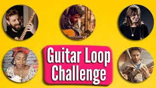 5 GUITARISTS LOOP OVER THE SAME CHORDS // ft. Spender, Ibe, Watson, Hvetter