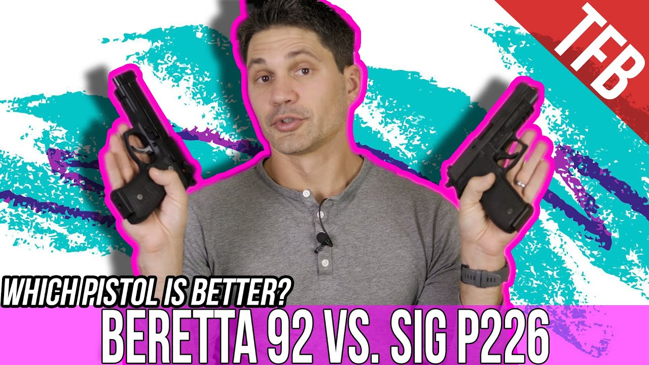 Sig P226 vs. Beretta 92: Which is the King of Metal 9mms?