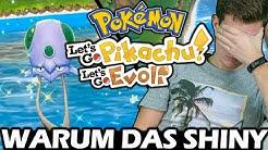 Ich WOLLTE es NICHT! Shiny Tentacha Reaktion 😱 Let's Go Pikachu & Pokémon Let's Go Evoli