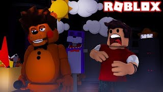 MY BROTHER BECAME AN ANIMATRONIC IN ROBLOX!!!