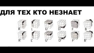 Как собрать кубик рубика (полное обучение)