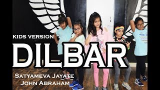 DILBAR DILBAR kids Dance Cover choreography gabriel