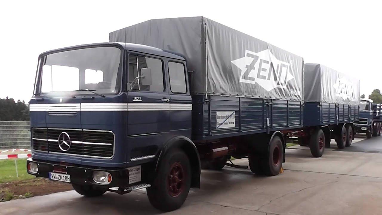 Mercedes benz 1623 old german truck youtube for Mercedes benz box truck