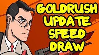 TF2: The Goldrush Update Speed Draw (Ihasnotomato Draws)