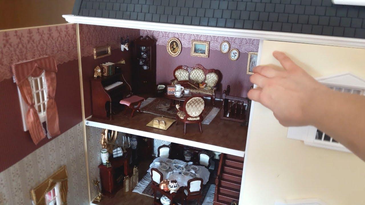 La mia casa delle bambole vittoriana gli interni youtube for Decora la tua casa