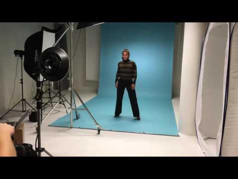 Behind the scenes! @funkygine