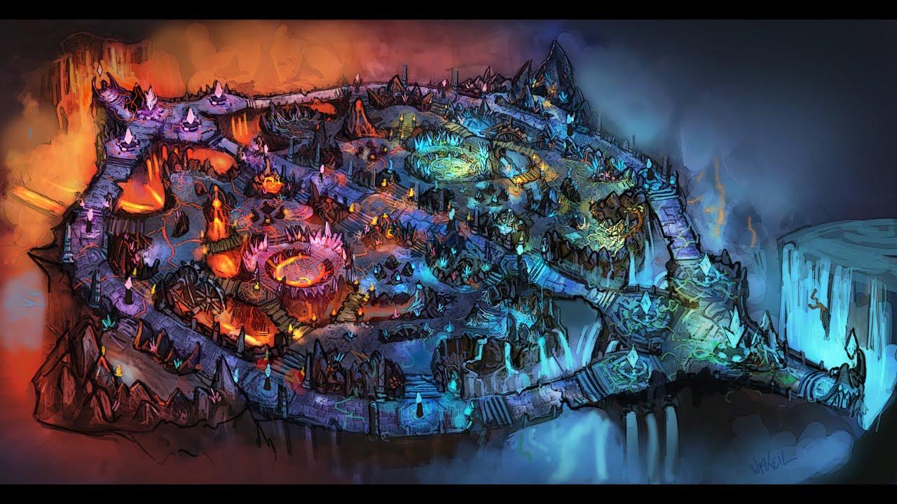 League Of Legends Map 5v5