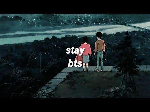 stay - bts [english lyrics]