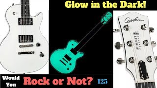 Glow in the Dark Guitar! | Godin Summit Classic with HDR System | WYRON 125