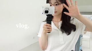 VLOG   일상 브이로그   첫 카메라 개봉기 (wi…