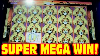 50 Lions DELUXE - SUPER MEGA BIG WIN - New Slot Machine 3 Bonus Showcase