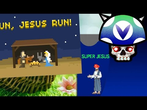 [Vinesauce] Joel - Easter 2016 ( Run Jesus Run, Super Jesus Land, Giveaway )