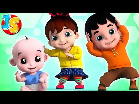 Head Shoulder Knees And Toes | Nursery Rhymes Songs For Children | Baby Songs By Junior Squad
