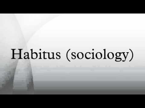 Habitus (sociology) - YouTube