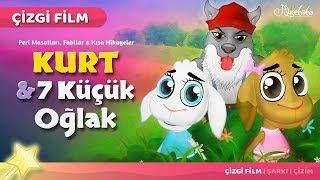 Kurt ve 7 Küçük Oğlak çizgi film masal 20 - Adisebaba Çizgi Film Masallar 2017 Video