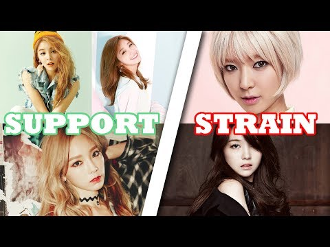 Strain VS Support | K-Pop Female Vocalists (A4 - F5)