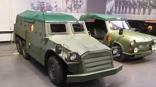 Zwickau: Horch,Auto-Union,Trabi museum, Trabant múzeum