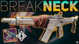 Breakneck Auto Rifle FULL REVIEW (TTK and RoF Breakdowns) | Destiny 2 Season of the Forge