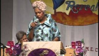 Bishop Millicent Hunter - Women's Conference 2011