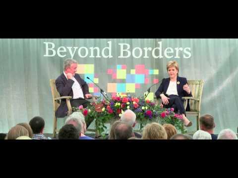 Beyond Borders - An Audience with Nicola Sturgeon - BBIF 2015