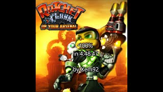 [World Record] Ratchet and Clank 3 100% Speedrun in 4:48:47
