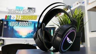 review Nuke 13R 7.1 Surround Gaming Headphone Terbaru dari Armaggeddon!