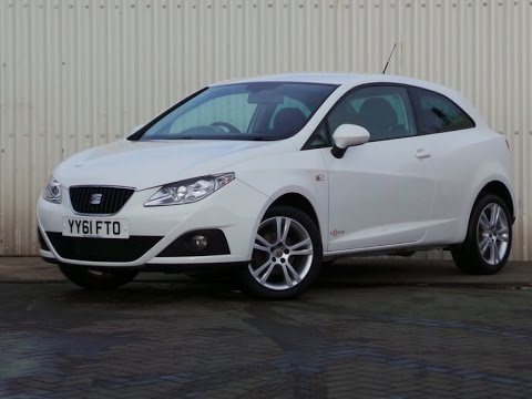 2011 seat ibiza 1 4 se copa 3dr in white youtube. Black Bedroom Furniture Sets. Home Design Ideas