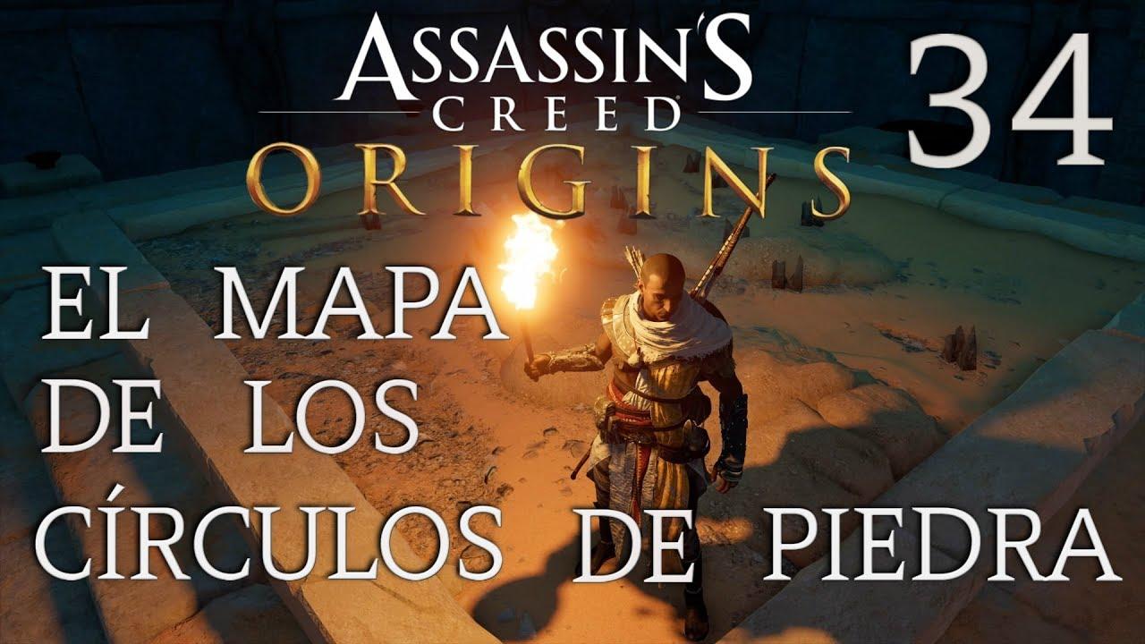 Assassin S Creed Origins Capitulo 34 El Mapa De Los Circulos
