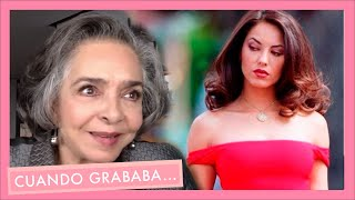 Ana Martín recuerda su reacción al conocer a Bárbara Mori   Cuando Grababa