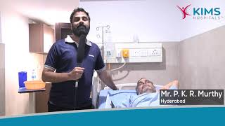 Mr. P K R Murthy's Testimonial :: Prostatic Hyperplasia & Phimosis :: Dr. Naveenchandra R. Acharya