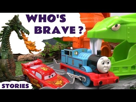 Who's Brave ? Thomas & Friends | Minions | Cars | Avengers | Batman | Scooby-Doo | Ant-Man