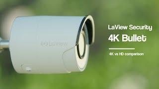 Compare HD IP Security Camera Systems 4k Vs. 1080P Cameras