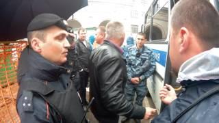 Берегитесь полицию! У них свои законы. Москва, Белорусская, 07.06.2016 - часть 2
