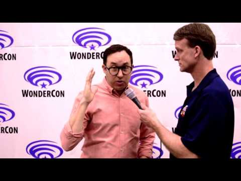 P.J. Byrne  Firestorm on Justice League Action  at WonderCon 2017