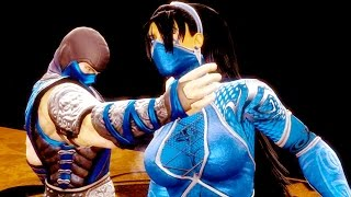 Download Video Mortal Kombat 9 - All Fatalities & X-rays on Kitana Blue Queen Costume 4K Ultra HD Gameplay Mods MP3 3GP MP4