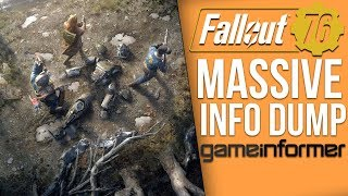 Fallout 76 HUGE Info Dump - Story Details, No Dialogue, Player Factions