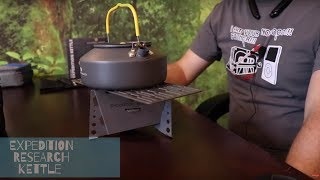 Expedition Research- Kettle- (Did I Find The Lightest Camping Cook Kit?)