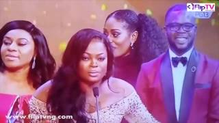 FUNKE AKINDELE WINS DOUBLE FOR JENIFA'S DIARY AT AMVCA 2017 (Nigerian Lifestyle & Entertainment)