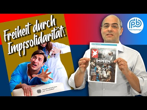 Druck und Propaganda pro Impfung