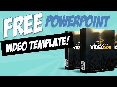 Free kick ass video ad powerpoint template youtube free kick ass video ad powerpoint template toneelgroepblik Images