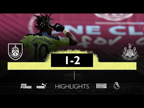 Burnley 1 Newcastle United 2 | Premier League Highlights