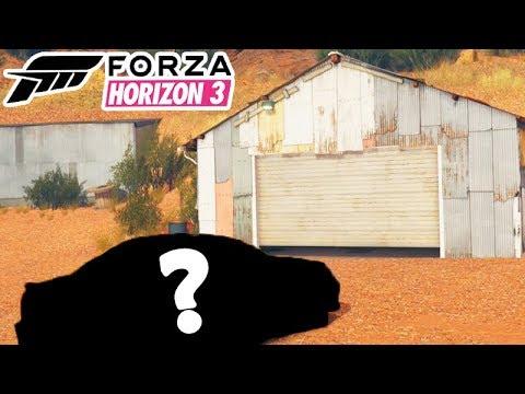FORZA HORIZON 3 - O CARRO SECRETO das GARAGENS!!!