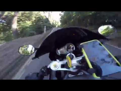 Macquarie Pass on Triumph Daytona