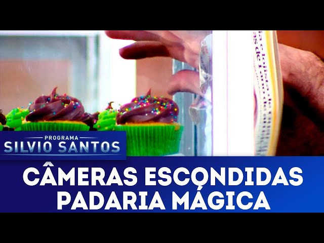 Padaria Mágica - Magic Bakery Prank | Câmeras Escondidas (06/01/19)