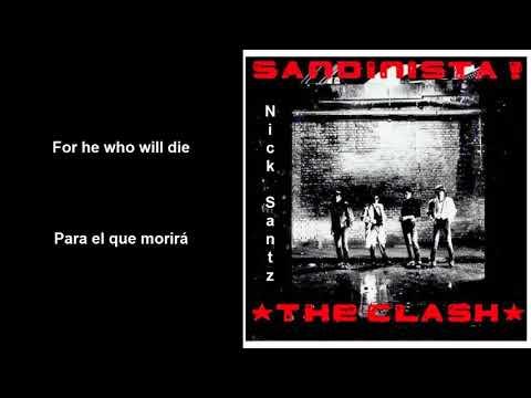 The Clash -The Call up (Lyrics) (Subtitulos en español)