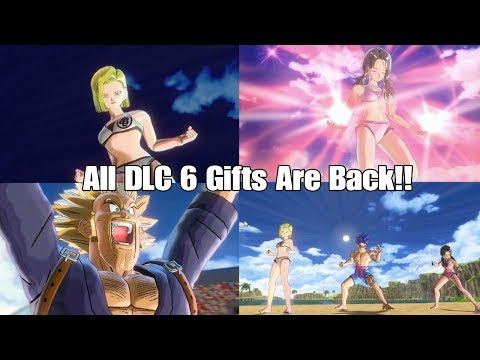 Xenoverse 2 ALL DLC 6 Mentor Gifts Are Back And Goku Day?