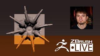 Joseph Drust - #AskZBrush LIVE - Episode 10