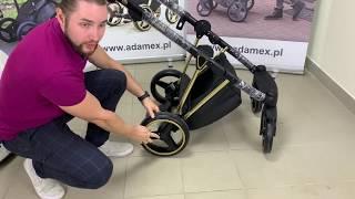 Видео обзор детской коляски Adamex Cristiano Special Edition LUX