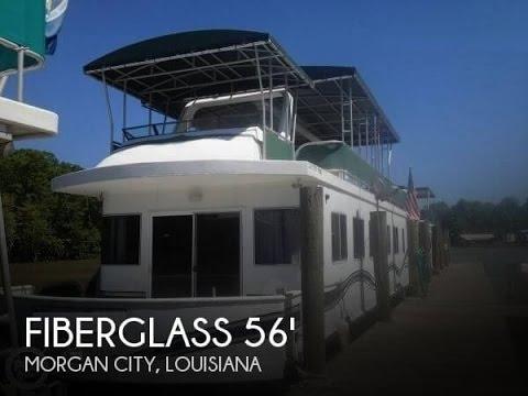 [UNAVAILABLE] Used 2000 Fiberglass Unlimited 56 Catamaran Houseboat in Morgan City, Louisiana